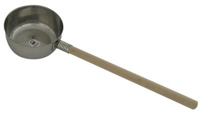 Ladle w/wood handle